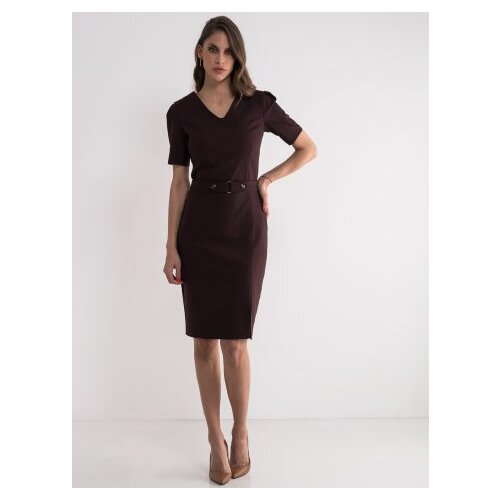 Legendww ženska poslovna bordo haljina 5654-9146-97  Cene