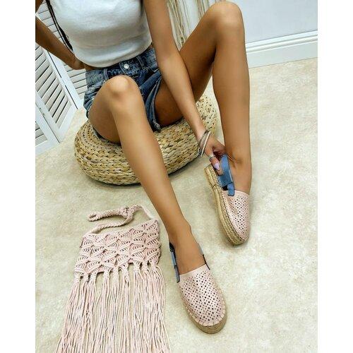 Hop Hop ženske sandale na platformu sa nitnama - crne  Cene