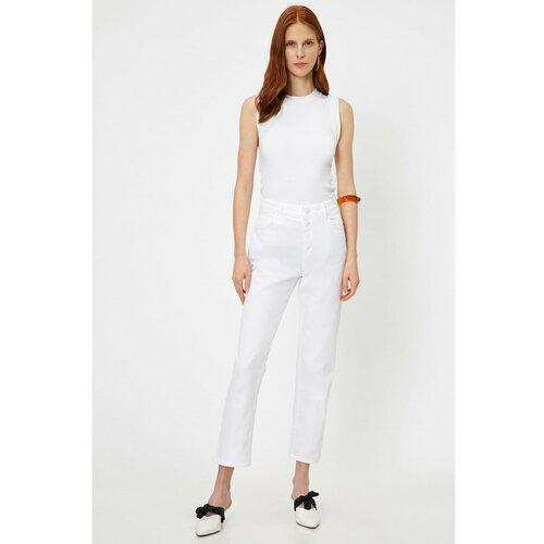Koton Ženske bijele hlače  Cene