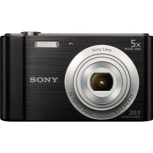 Sony DSC-W800B Black digitalni fotoaparat Slike