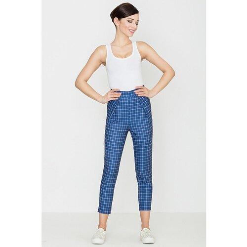 Lenitif Ženske hlače K420 Pattern 48 plave siva  Cene