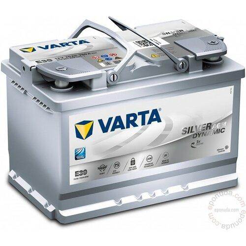 Varta Silver Dynamic AGM 12V70 AH D+ akumulator Slike
