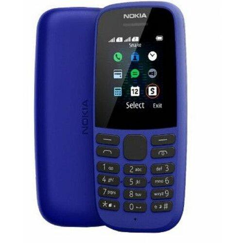 Nokia 105 (2019) DS Blue mobilni telefon Slike