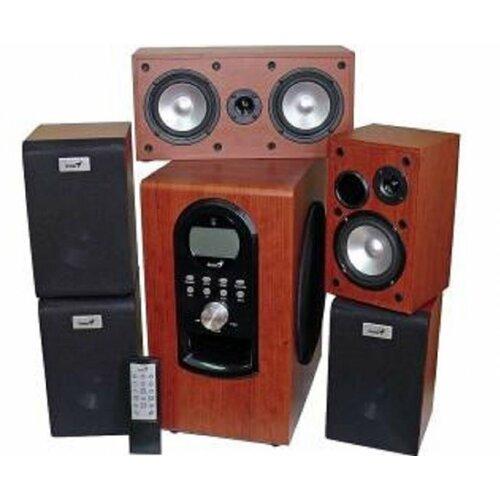 Genius SW-HF 5.1 6000 Maple Wood zvučnik Slike