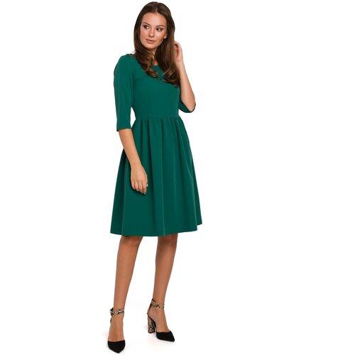Makover Ženska haljina K010 crna zelena  Cene