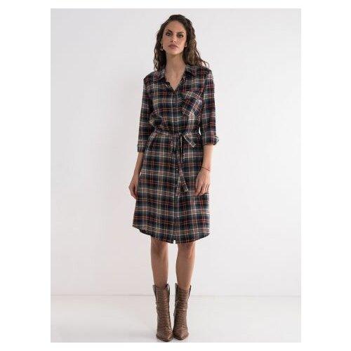 Legendww karirana haljina - kosulja 5898-7262-33  Cene