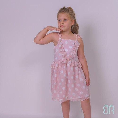 Breze haljina za devojčice sa karnerima 113686 Slike
