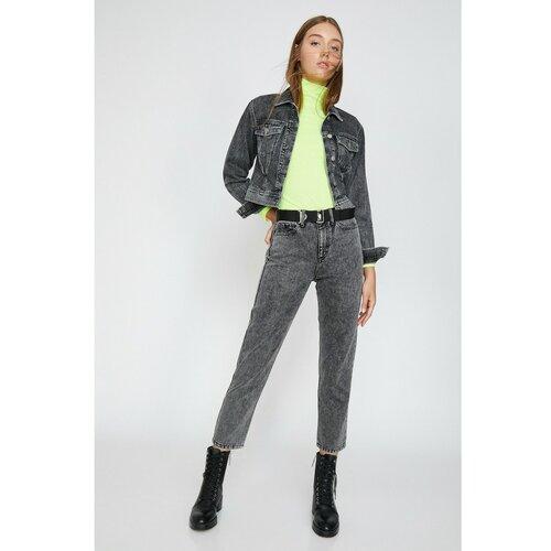 Koton Žene sive hlače crne boje siva | krema  Cene