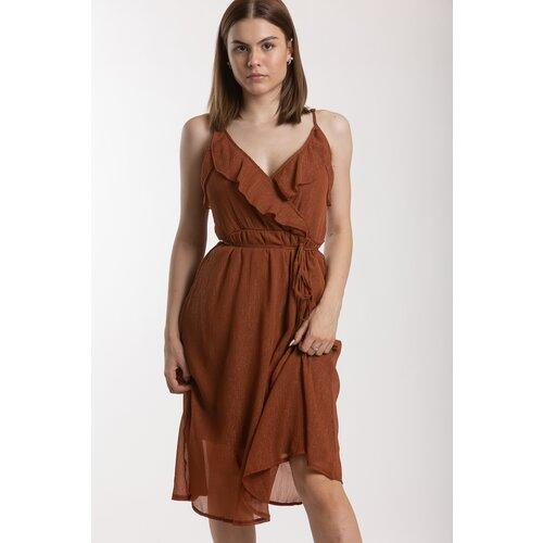 Vila ženska haljina Vitea 14055166  Cene