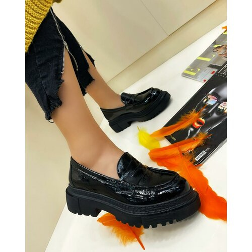 Hop Hop 17703 - kožne cipele meena - crna Slike