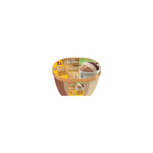Nestle aloma 3 in 1 cocoa, biscuit, hazelnut sladoled 3L Slike