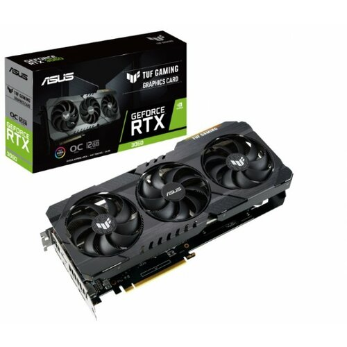 Asus nVidia GeForce RTX 3060 12GB 192bit TUF-RTX3060-O12G-V2-GAMING grafička kartica Slike