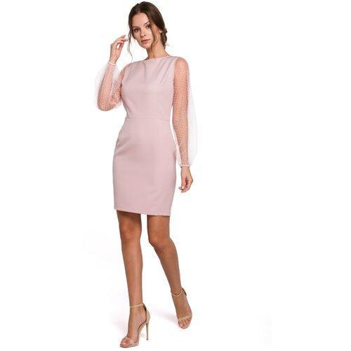 Makover Ženska haljina K032 roza  Cene