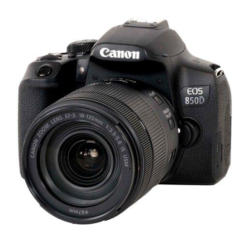 Canon EOS 850D + EF-S 18-135 mm f/3.5-5.6 IS USM digitalni fotoaparat Slike