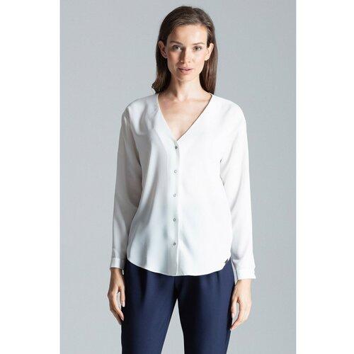 Figl Ženska košulja M671 plava   bijela   siva  Cene
