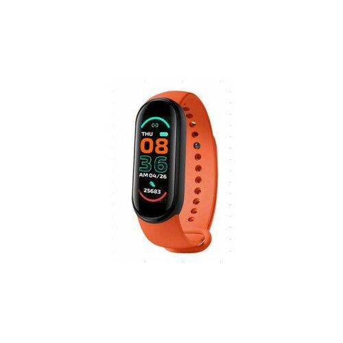 Moye Fit Pro M6 Smart Band Orange  Cene