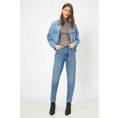 Koton Ženske ženske pantalone plave boje  Cene