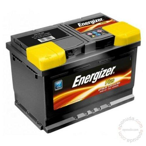 Energizer PLUS 12 V 52 Ah D+ akumulator Slike