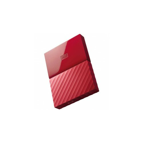 Western Digital eksterni hard disk My Passport red 1TB Slike