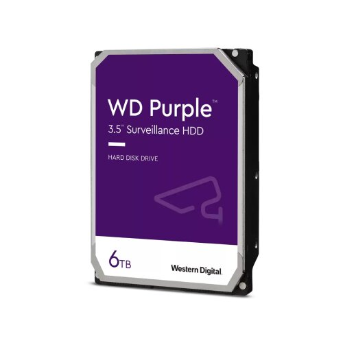 Western Digital SATA III 128MB IntelliPower WD62PURZ Purple hard disk Slike