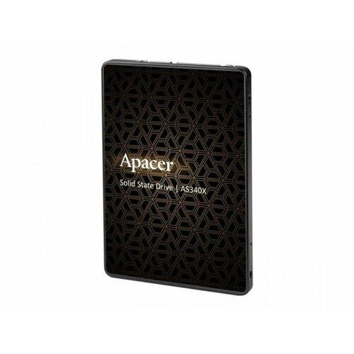 Apacer 480GB 2.5 SATA III AS340X Panther series ssd hard disk Slike