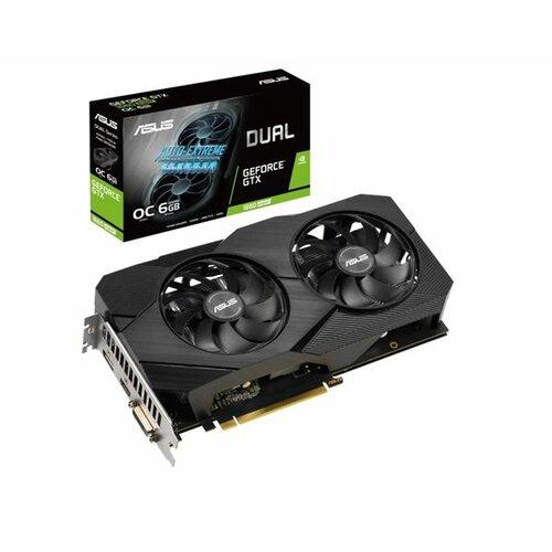 Asus nVidia GeForce GTX 1660S DUAL-GTX1660S-O6G-EVO grafička kartica Slike