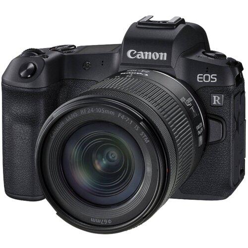Canon EOS R+ RF 24-105 mm /4-7,1 IS STM digitalni fotoaparat Slike