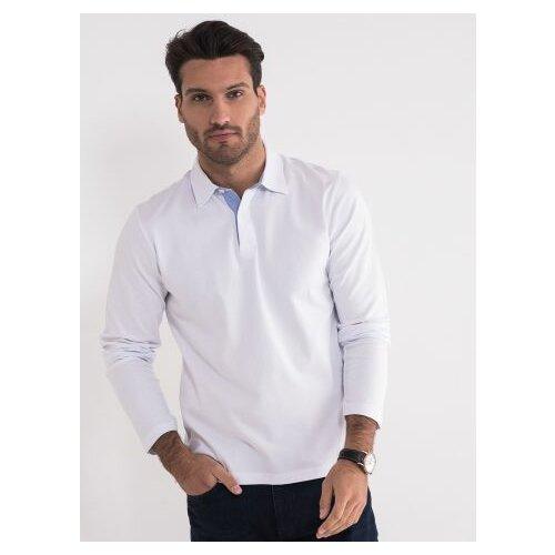 Legendww bela majica sa kragnom 6640-9566-01 Slike