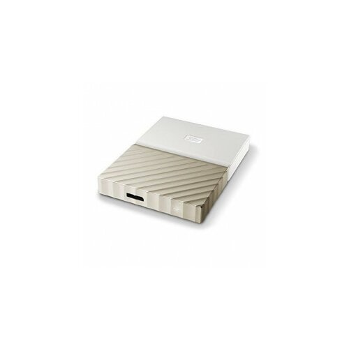 Western Digital eksterni hard disk My Passport Ultra 2TB gold Slike