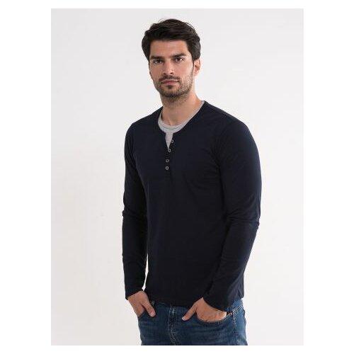 Legendww muška jednostavna pamučna majica 6644-9368-05 Slike