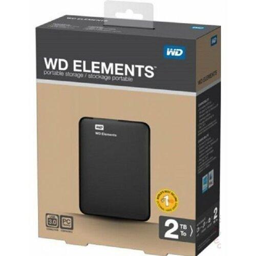 Western Digital 2.5 2TB WDBU6Y0020BBK eksterni hard disk Slike