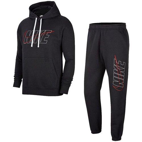 Nike muška trenerka M NSW CE TRK SUIT HD FLC GX CU4323-010 Slike