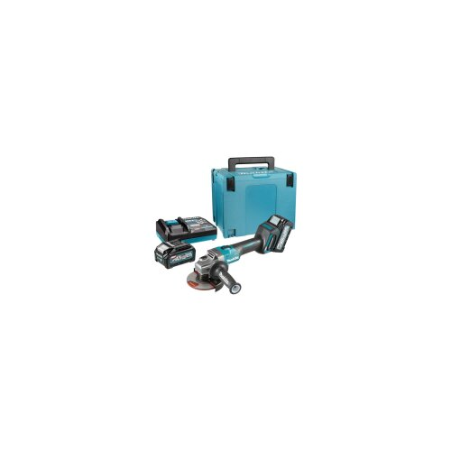 Makita akumulatorska ugaona brusilica GA008GM201, 40V, 125mm Slike