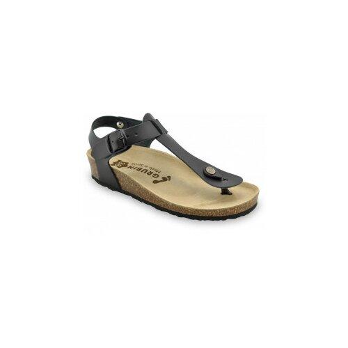 Grubin ženske sandale japanke 0953650 TOBAGO Crna  Cene