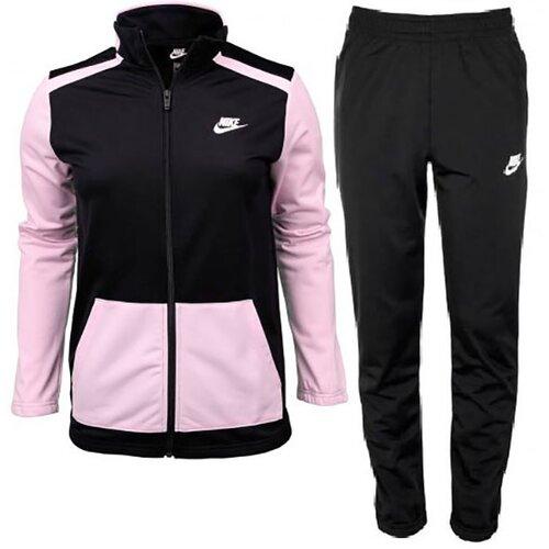 Nike trenerka za devojčice NSW FUTURA POLY CUFF TS DH9661-011 Slike