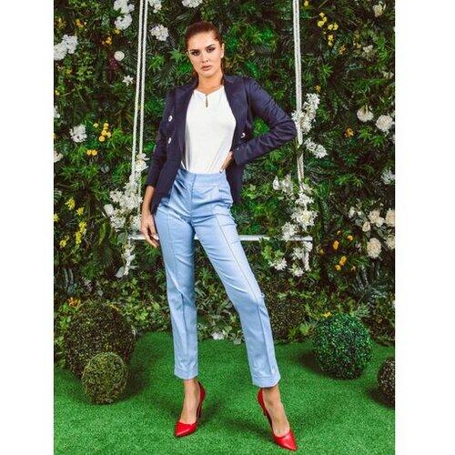 AMC ženske pantalone 310R plave  Cene