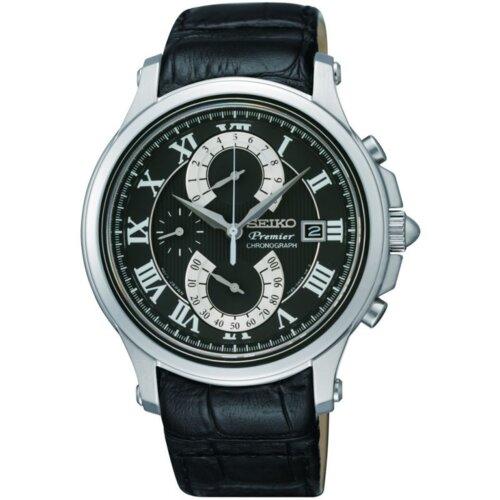 Seiko Premier Chronograph muški ručni sat SPC067P2 Slike