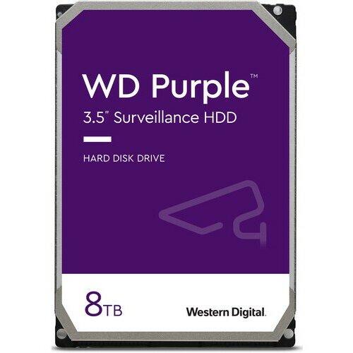 Western Digital Purple Pro 8TB Surveillance 3.5 SATA HDD WD8001PURP hard disk Slike
