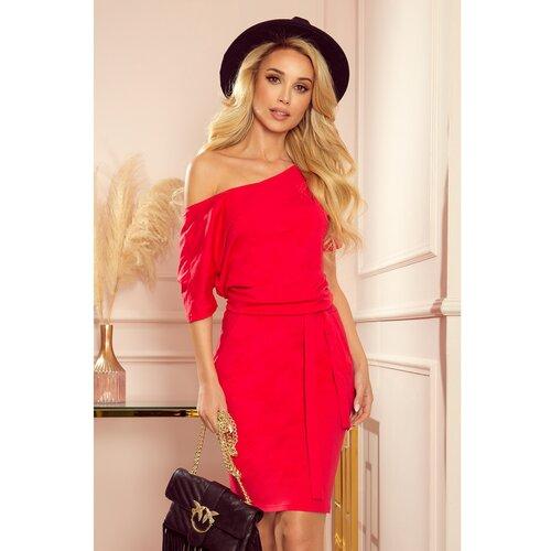NUMOCO Ženska haljina 249-3 crvena  Cene