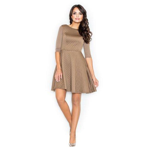 Figl Ženska haljina M235 braon  Cene