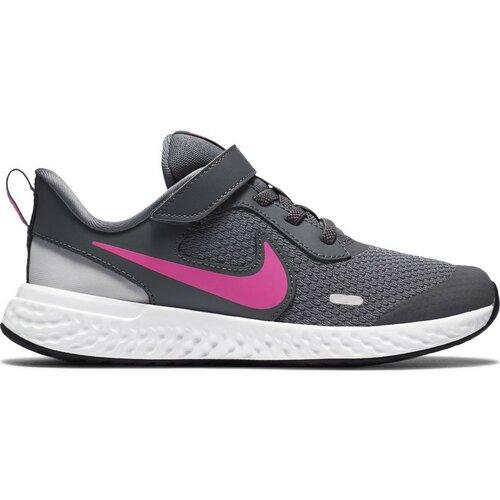 Nike patike za trčanje za devojčice REVOLUTION 5 PSV siva BQ5672  Cene