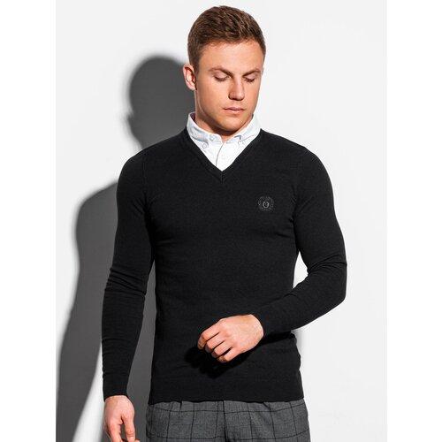 Ombre Muški džemper E120 crni siva  Cene