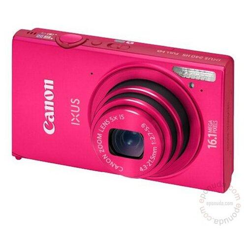 Canon Ixus 240 HS Pink digitalni fotoaparat Slike