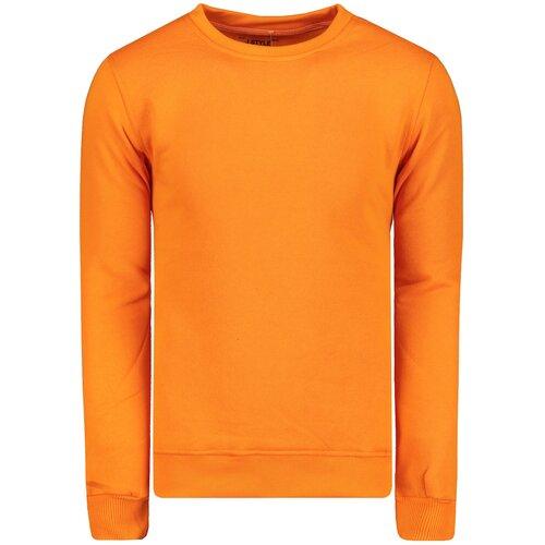 Edoti Men's sweatshirt B874 plava | narandžasta  Cene