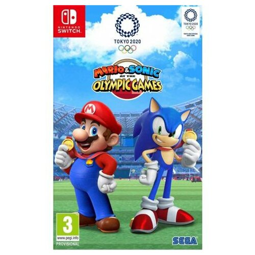 Nintendo Switch Mario and Sonic at the Olympic Games Tokyo 2020 igra Slike