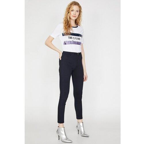 Koton Ženske pantalone Jean  Cene