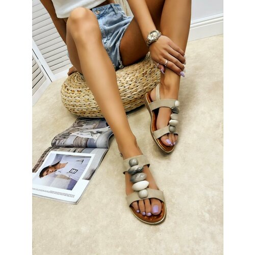 Hop Hop 16371 - ženske sandale althea - bež  Cene