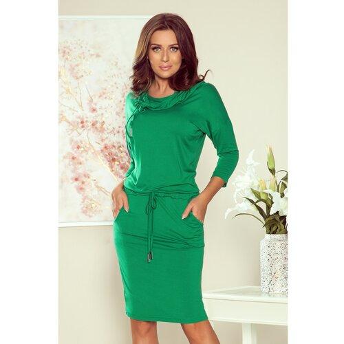 NUMOCO 44-21 Sportska haljina sa rolkom - zelena zelena  Cene