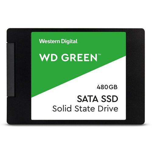 Western Digital Green 480GB SSD, SATA3, 545MB/s Read (WDS480G2G0A) ssd hard disk Slike