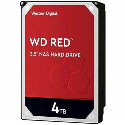Western Digital 4TB WD Red 3.5 SATA III 256MB 5400rpm WD40EFAX hard disk Slike